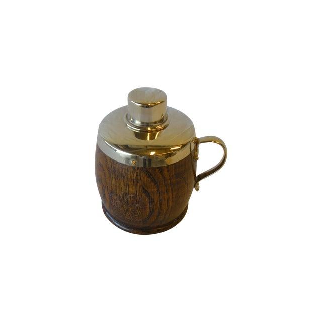 Antique English Oak Tea Caddy - Image 1 of 4
