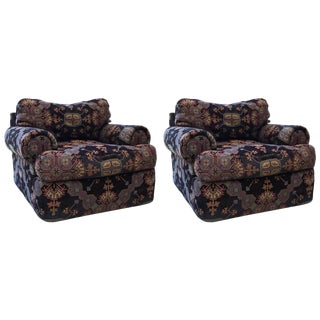 Directional Swivel Chairs - a Pair