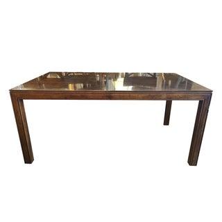 Henredon Burl Wood Dining Table