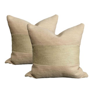 Natural Linen Pillows - a Pair