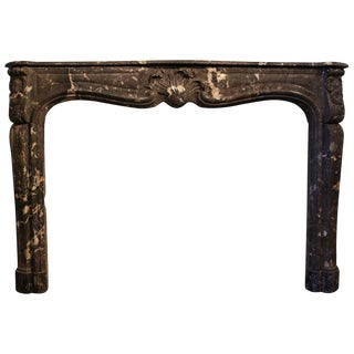 Large-Scaled French Regence Marble Mantelpiece