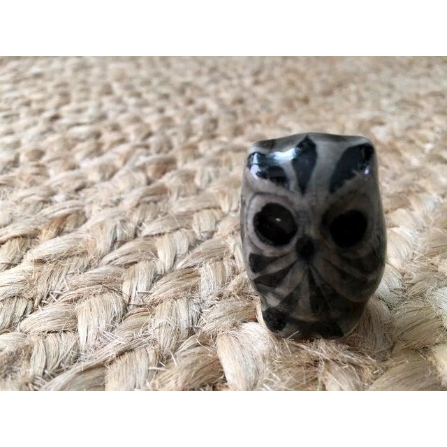 Image of Handpainted Glazed Owl