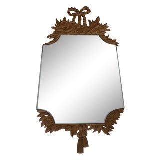 Vintage Rustic Harvest Mirror
