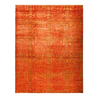 """Eclectic, Hand Knotted Area Rug - 9' 4"""" x 12' 0"""""""