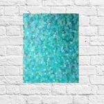 "Image of Susie Kate ""Blue Confetti"" Original Painting"