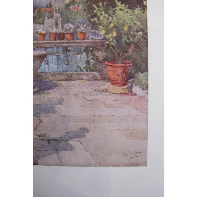 1905 Ella du Cane Print, A Garden, Lago d'Orta - Image 4 of 4