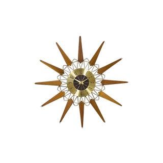 Starburst Clock by Sears Roebuck