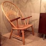 Image of Hans Wegner Peacock Chair