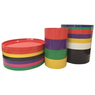 Massimo Vignelli Dining Set - 29 Pieces