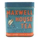 Image of Vintage 1/2 Lb. Maxwell House Orange Pekoe Tea Tin