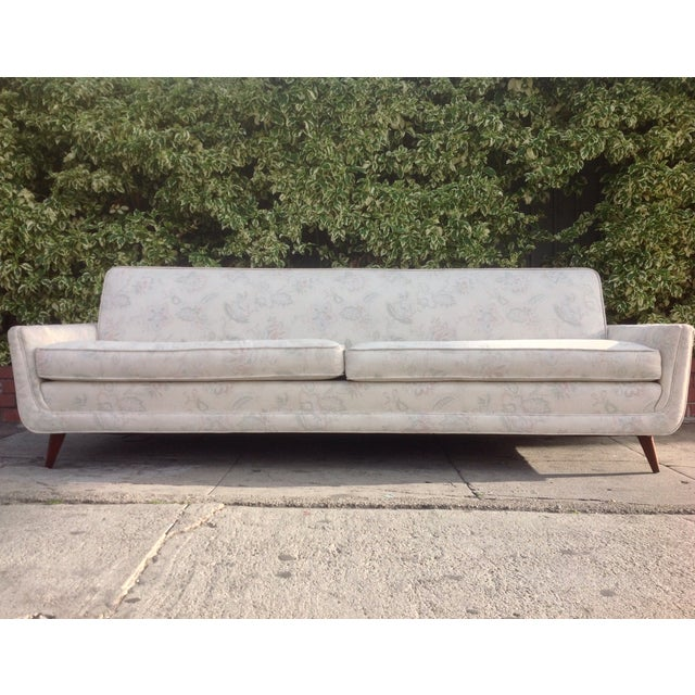 Image of Mid Century Adrian Pearsall Style Sofa