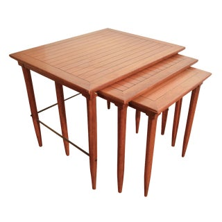 Mid-Century Nesting Tables by Tomlinson - Set of 3