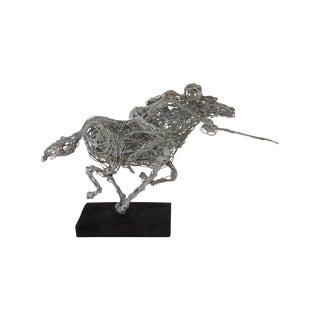 Brutalis Art Sculpture '' Rider With a Sword''