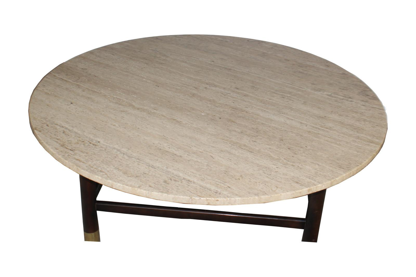 Travertine Coffee Table   Image 2 Of 2