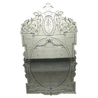 Venetian Style Wall Mirror