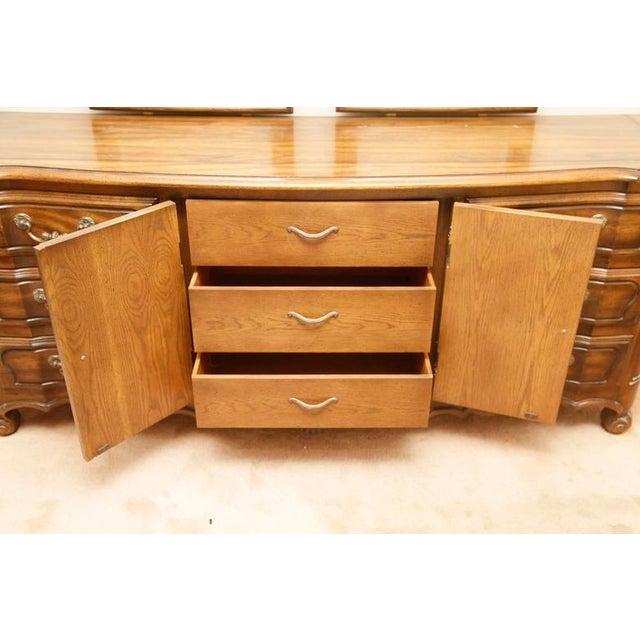 Century Furniture Double Mirror Dresser - Image 3 of 11