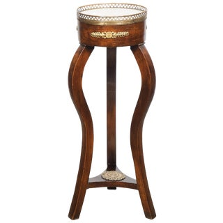 French Restoration Period Side Table/Pedestal