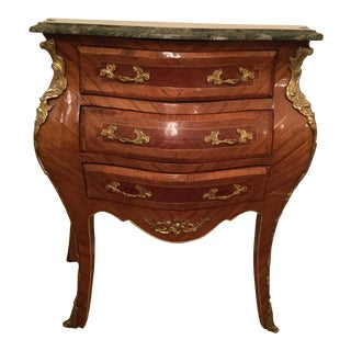 French Bombe Side Table