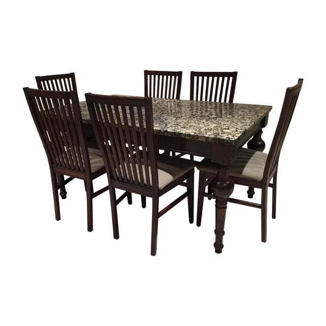 Arhaus Furniture Dining Set and Table & 6 Chairs - Image 1 of 4