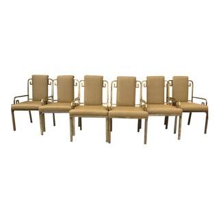 Mastercraft Greek Key Dining Chairs - Set of 6