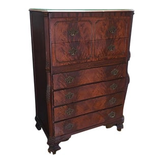 Antique Tribond Tall Dresser