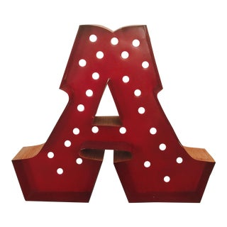 Channel Letters Letter A
