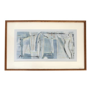 Sarah Johnson Abstract Original Art Monotype