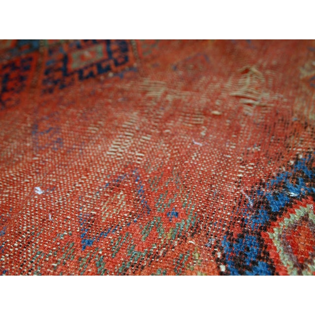 Image of 1880s Handmade Antique Persian Kurdish Rug - 2′ × 3′3″