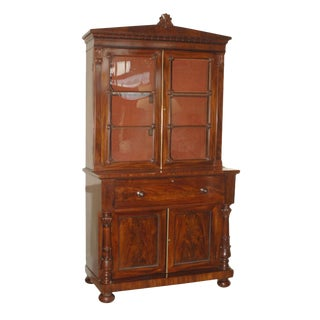 English Regency Period Secretary Bookcase
