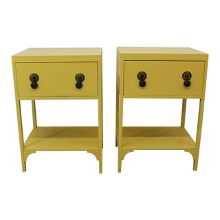 Vintage arts and crafts side tables/nightstands - a Pair
