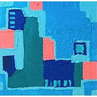 'LiNCOLN ROAD' Original Abstract Painting