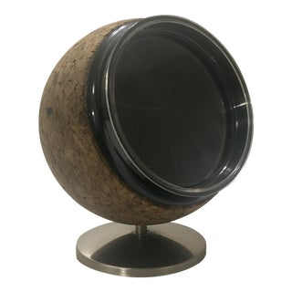 Vintage Cork Photo Ball & Desk Accessory Stand