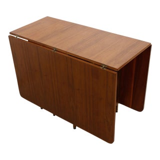 Harvey Probber Style Double Drop-Leaf Table