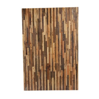 Natural Reclaimed Boat Wood Panel