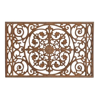 Antique Cast Iron Doormat