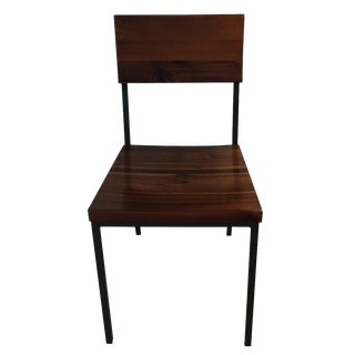West Elm Rustic Dining Chairs - Set of 4