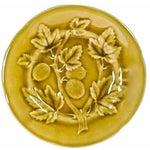 Image of French Choisy Le Roi Majolica Gooseberry Plate