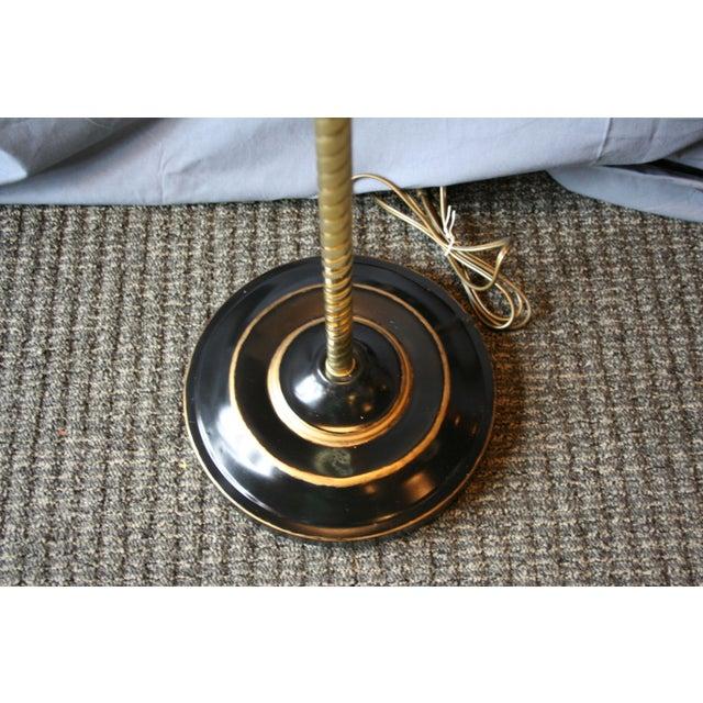 Modern Brass Floor Lamp - Image 10 of 10