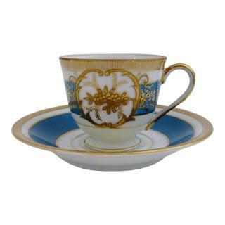 Vintage Porcelain Demitasse & Saucer