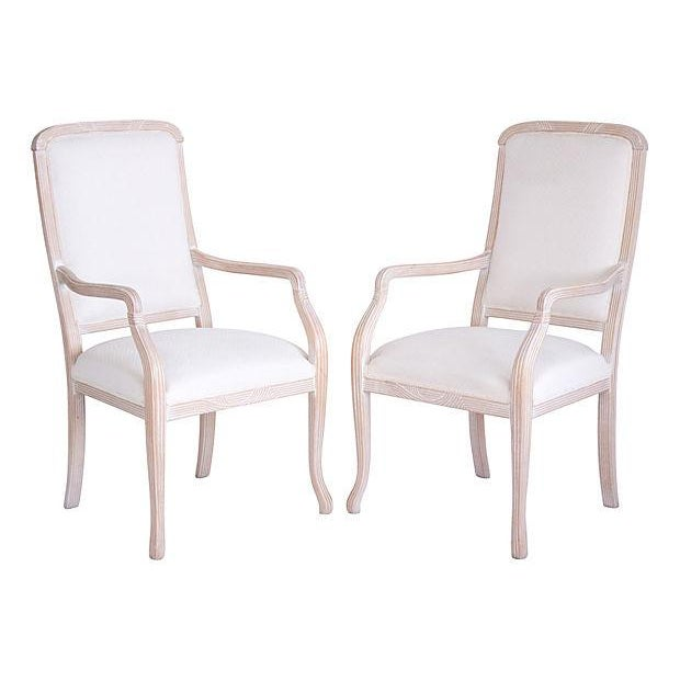 Italian Armchairs by Chateaux D'Ax - a Pair - Image 1 of 7