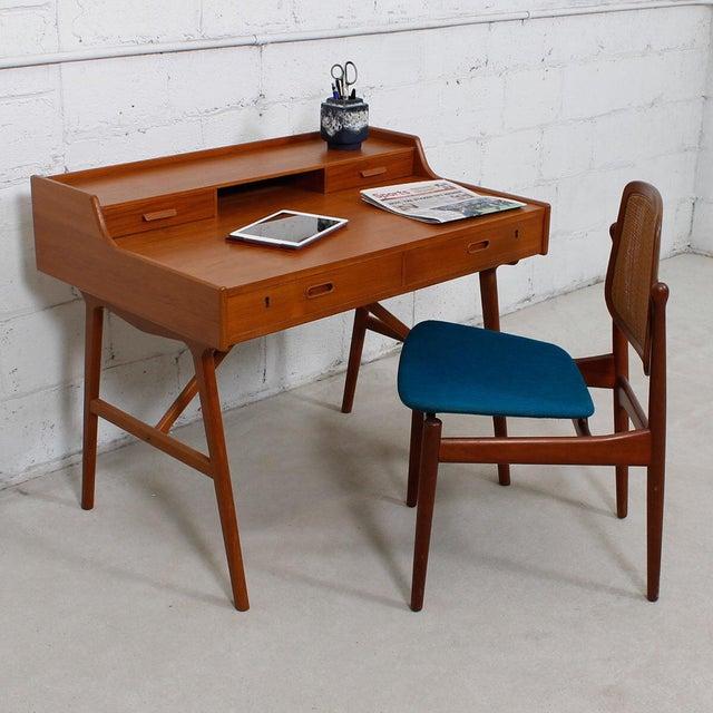 Iversen Danish Teak Writing Desk - Image 3 of 8