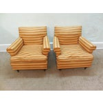 Image of Vintage Mid-Century Modern Lounge Chairs - A Pair