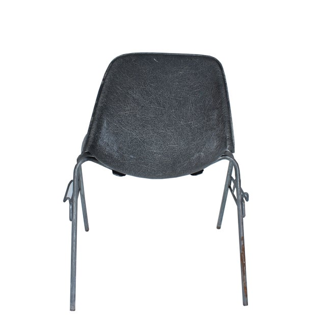 Herman Miller for Eames Vintage Gray Side Chair - Image 2 of 5