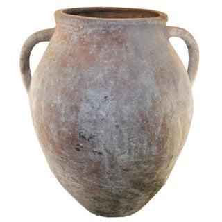 Rug & Relic Vintage Turkish Eathenware Jar