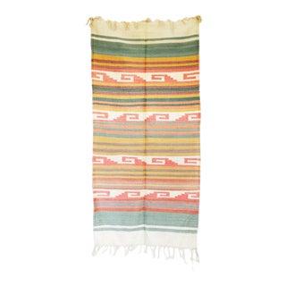 Vintage Southwestern Pastel Rug - 2′4″ × 4′9″