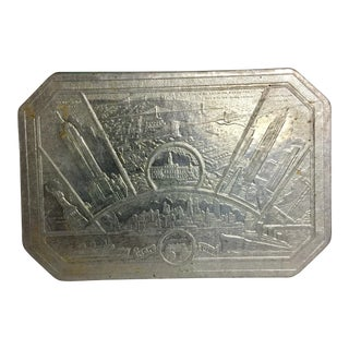 New York City Pressed Embossed Foil Trivet