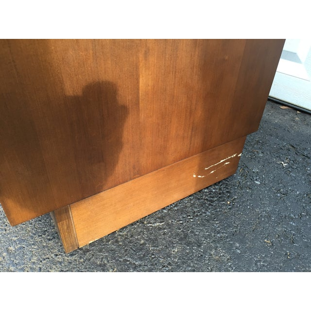 Image of Paul McCobb Style Mid-Century Credenza With Hutch