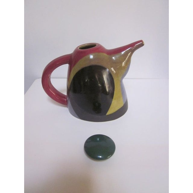 Signed Chris Simoncelli Modernist Studio Teapot - Image 3 of 3