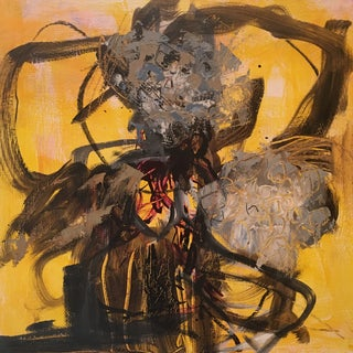 Abstract Oil & Ink by JJ Justice