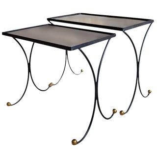 Jean Royère Style Nesting Tables- Set of 2